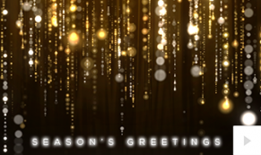 Glittering Wishes Vivid Greetings video corporate ecards