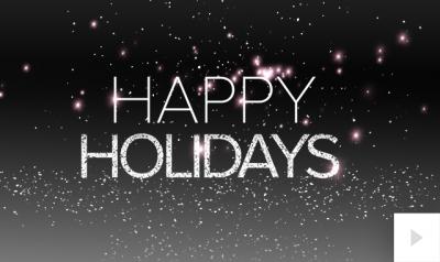 Holiday Wordplay Vivid Greetings video corporate ecards thumbnails