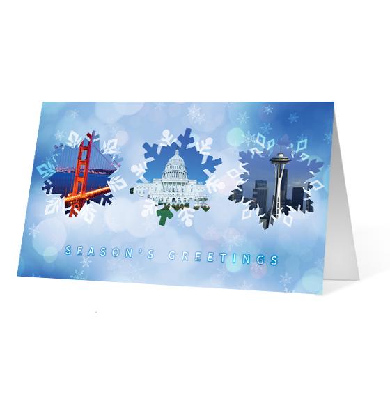 Snowflake Impressions - Print