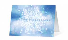 Snowflake Impressions Print corporate ecards Thumbnail