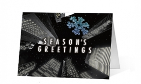 18. City Skyward corporate holiday print thumbnail