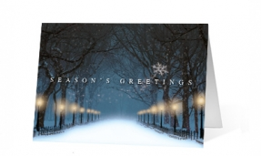 18. Magical Night corporate holiday print thumbnail