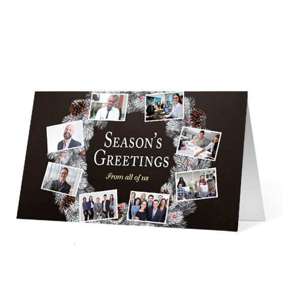 Wreath Snapshots - Print