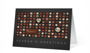 chocolate wishes Thumbnail Print corporate ecards