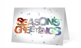 seasonal sentiments Thumbnail Print corporate ecards
