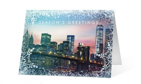 Frost Frame vivid greetings corporate ecards