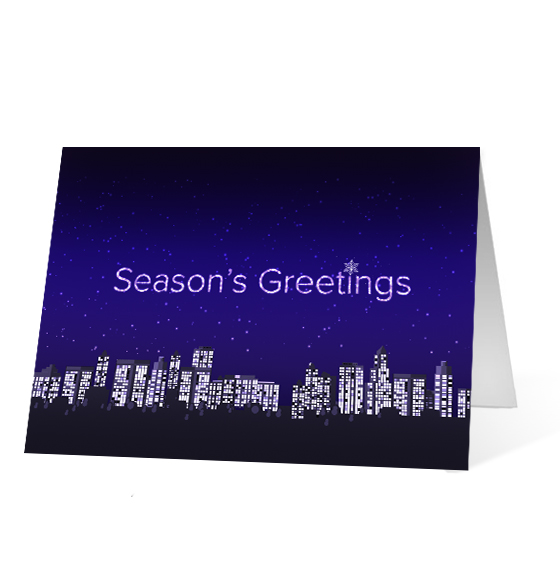Twinkling Cities - Print