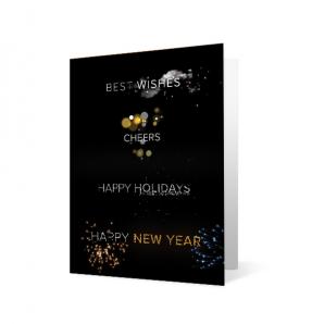 Holiday Wordplay vivid greetings corporate ecards