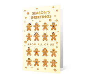 gingerbread greetings print thumbnail vivid greetings ecards
