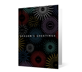 Exuberance Thumbnail Vivid Greetings corporate print ecards