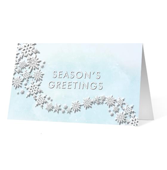 Flourishing Snowflakes - Print