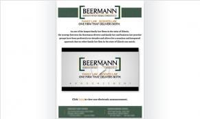 Beerman Vivid Greetings Email Template