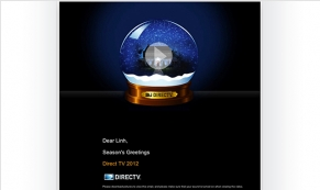DirecTV Vivid Greetings Email Template