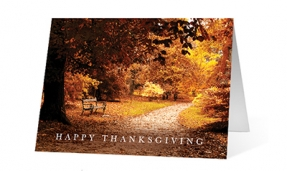Autumn Fall Print Vivid Greetings Ecards