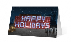 Holiday Shipping corporate holiday greeting card thumbnail