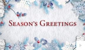 Peaceful Greetings corporate holiday ecard thumbnail