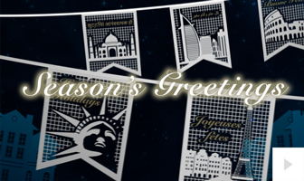 Holiday Banners corporate holiday ecard thumbnail