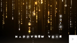 Glittering Wishes - New Year