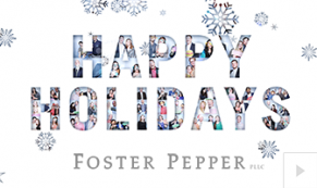 2018 Foster Pepper - custom corporate holiday ecard thumbnail