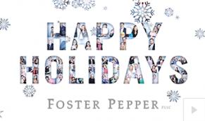 2018 Foster Pepper - custom corporate holiday ecard thumbnail