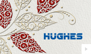 2018 Hughes - custom corporate holiday ecard thumbnail