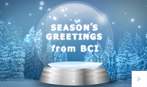 2018 BCI - Snowflake Swirl corporate holiday ecard thumbnail