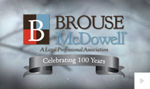 Brouse McDowell 2018