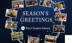 2018 Chartis group - wreath photos corporate holiday ecard thumbnail