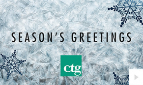 2018 CTG - Frost frame corporate holiday ecard thumbnail