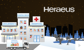2018 Heraeus - corporate holiday ecard thumbnail