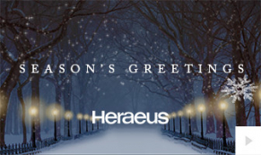 2018 Heraeus - magical night corporate holiday ecard thumbnail