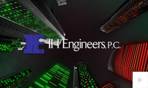 2018 IH Engineers - City skyward corporate holiday ecard thumbnail