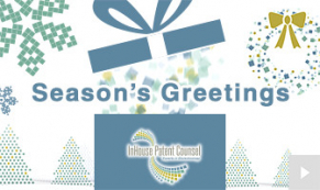 2018 Inhouse Patent Counsel - square sentiments corporate holiday ecard thumbnail