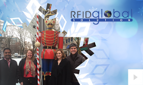 2018 RFID global - snowflake impressions corporate holiday ecard thumbnail