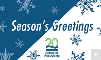 2018 Stillwater Associates - thankful celebration corporate holiday ecard thumbnail