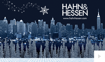 2018 Hahn Hessen - Park Stroll corporate holiday ecard thumbnail