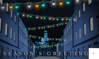 Snowflake Street corporate holiday ecard thumbnail
