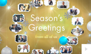 Company Moments corporate holiday ecard thumbnail