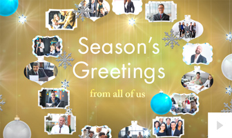 company moments photo Holiday ecard