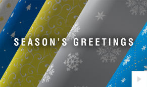Wrapping Wishes corporate holiday ecard thumbnail