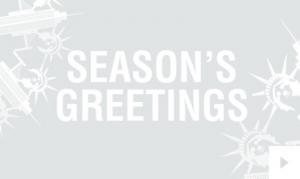 Paper Snowflake Single City Version corporate holiday ecard thumbnail