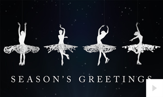 Snow Dance corporate holiday ecard thumbnail