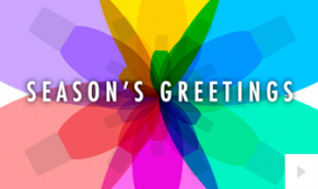 Colors Of the Season corporate holiday ecard thumbnail
