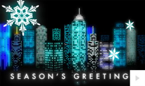 City Windows corporate holiday ecard thumbnail