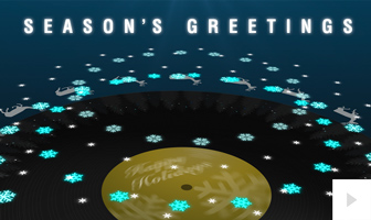 Sound Of Wishes corporate holiday ecard thumbnail