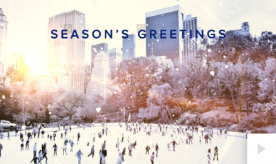 Revealing Scenes corporate holiday ecard thumbnail