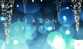 2019 shimmering icicles corporate holiday ecard thumbnail