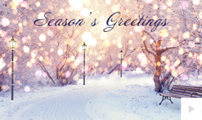 2019 serenity corporate holiday ecard thumbnail