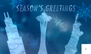 landmark illumination corporate holiday ecard thumbnail