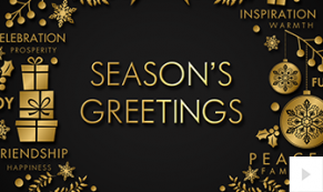 elegant wish corporate holiday ecard thumbnail